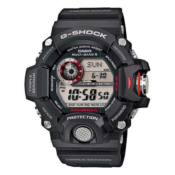 CASIO G- SHOCK WATCH RANGEMAN TRPLE SENSOR DIGITAL