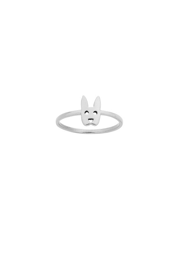 Karen Walker Stg Rabbit Ring