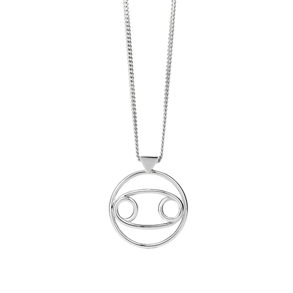 KAREN WALKER STG CANCER NECKLACE