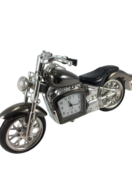 Clocks & Barometers Clock Toy Collection Motor Bike