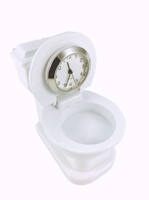 Clocks & Barometers Clock Toy Collection Toilet Bowl