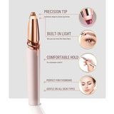 Mini Electric Eyebrow Trimmer Makeup Painless Eye Brow Epilator for Women  Shaver Razors Portable Facial Hair Remover