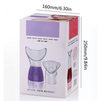 Steam Face Steamer Mini Water Meter Sprayer Hydrating Steaming Device Home Beauty Instrument Multifunctional Water Meter