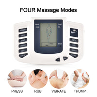 JR309 Tens Massager Meridian Physiotherapy Apparatus Electric Pulse Acupuncture Therapy Machine Muscle Stimulator 16 Pad EU Plug