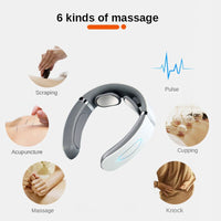 Smart Neck And Back Massager Pain Relief Electric Massager For Neck Shoulder Heated Cervical relax Physiotherapy Health Care