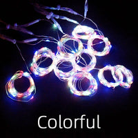 Fairy Bedroom String Garland Remote Curtain Lighting 300 LED