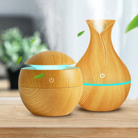Air Humidifier Aroma Essential Oil Diffuser Ultrasonic 7 Color Change LED Night 3, 2 or 1-Piece Set (24-45 Days)