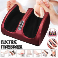 New 6-in-1 Electric Foot Care Massager Machine Plantar 3 Levels Heating Therapy Adjustable