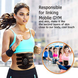 EMS Butt Trainer Muscle Stimulator ABS Fitness Buttocks Abdominal Trainer Toner Slimming Massager Neutral