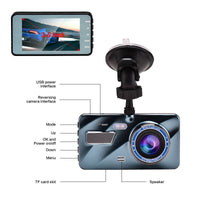 "Car DVR Dash Cam Video recorder 3 in 1Rear View Dual Camera Full HD Car Camera 3.6""Cycle Recording Night Vision G-sensor Dashcam"