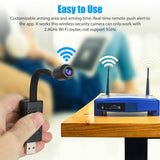 HD Mini Camera Wifi USB Portable Real-time Surveillance IP Camera Wireless Auido Home Motion Detection Camera