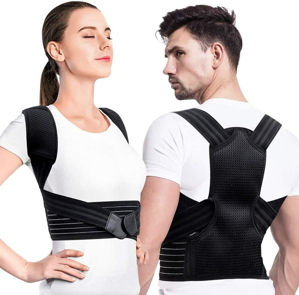 Posture Corrector Back & Shoulder Posture Support Brace Adjustable Brace Spinal Support for Back Neck Shoulder Pain Relief