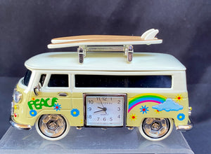 VW Bus Clock