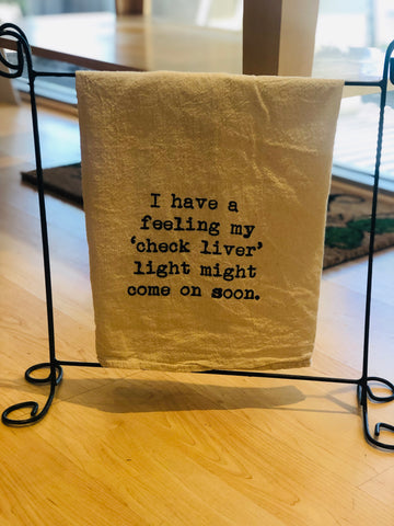 Tea Towel - Clever Phrase