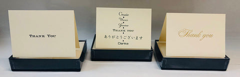 Crane brand thank you notes