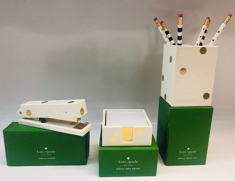 Kate Spade desk accessories