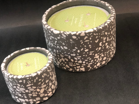 Terrazzo Fig Vetiver Candles