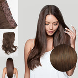 CLASSIC QUAD CLIP-IN EXTENSIONS FOR FINE HAIR (AVAILABLE IN PREMIUM AND EUROPEAN HAIR GRADES)