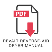 RevAir Reverse-Air Dryer Manual
