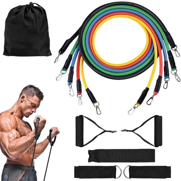 11pcs Resistance Band Set