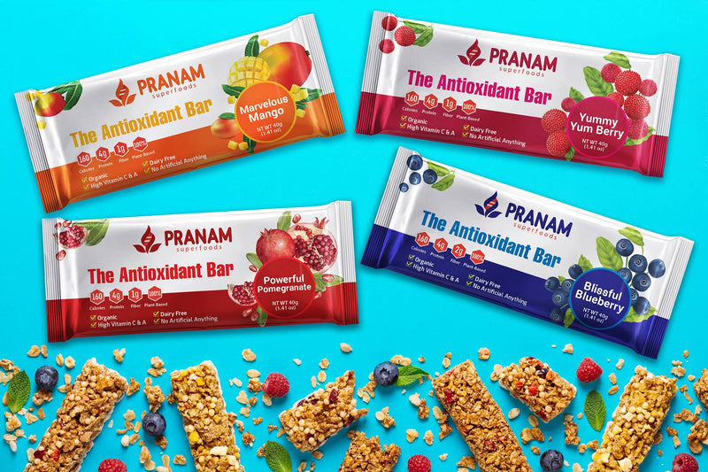 Pranam Superfoods - The Antioxidant Bar