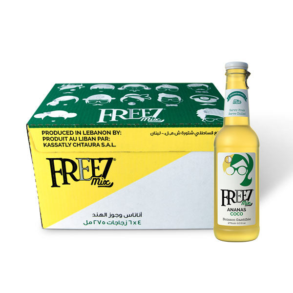 Freez Mix Coconut Pineapple - Box of 24