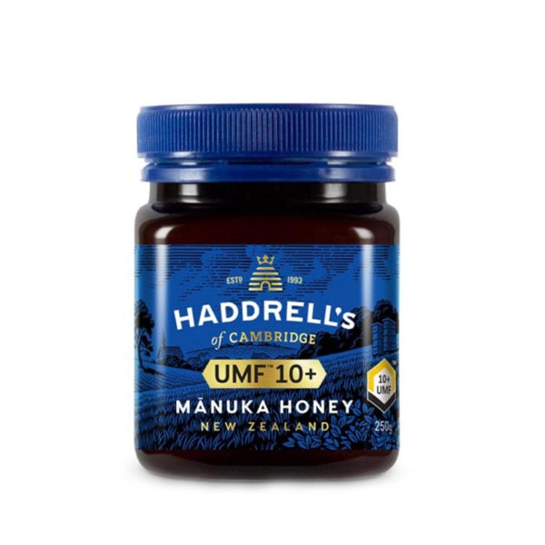 Haddrell's of Cambridge® - UMF® 10+ Manuka honey - 250 gm