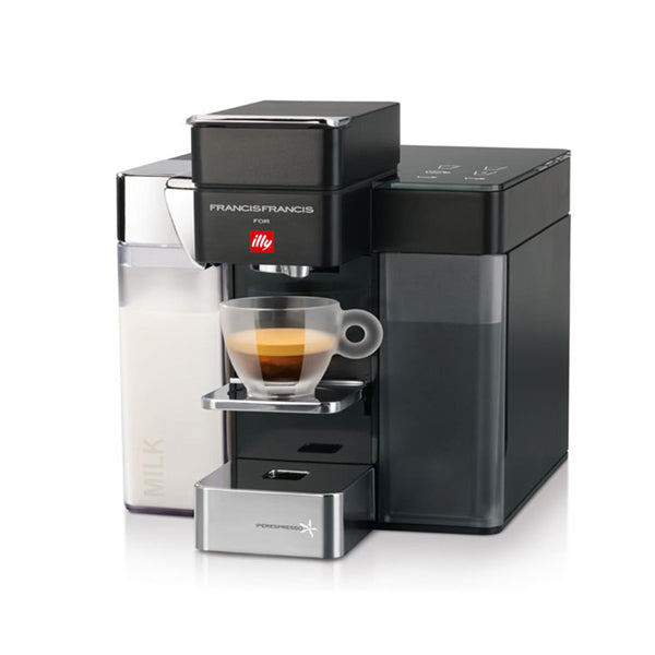 Illy Francis Y5 Milk IperEspresso and Coffee Machine - Black