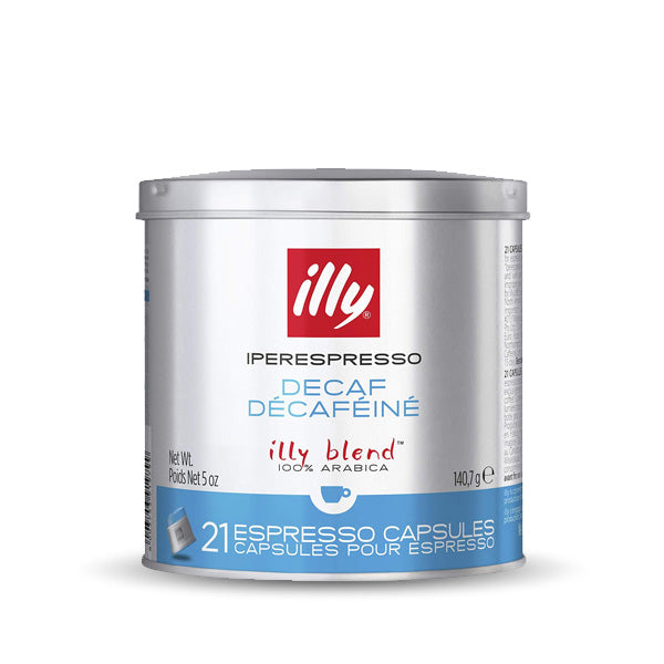 Illy IperEspresso Decaffeinated Coffee - 21 Capsules