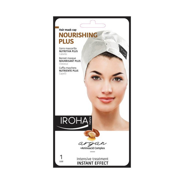 Iroha Nature Sauna Repair Hair Mask Cap
