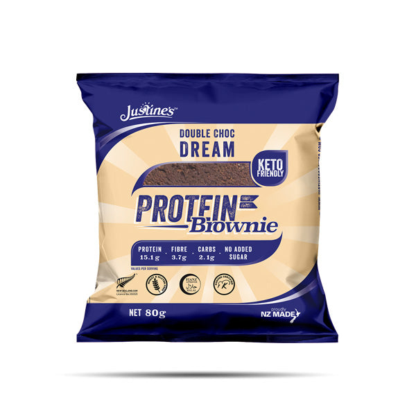 Justine's Choc Dream Protein High Protein Brownies