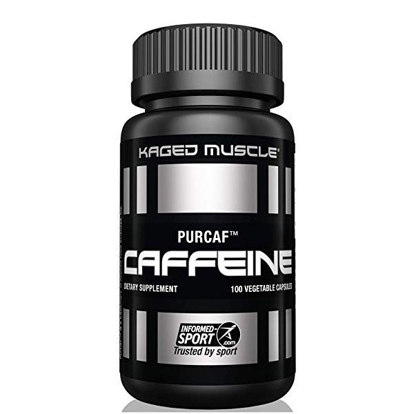 Kaged Muscle - Caffeine - Unflavored - 100 Capsules
