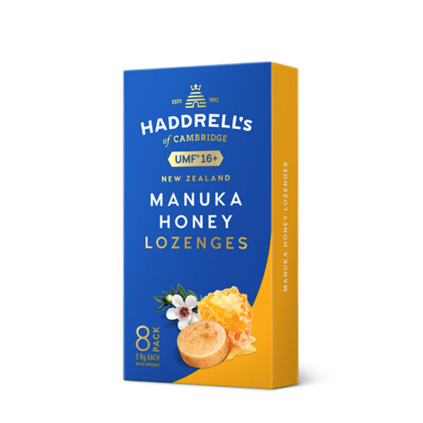 Haddrell's of Cambridge® - UMF 16+ Manuka Honey Lozenges - أقراص عسل مانوكا
