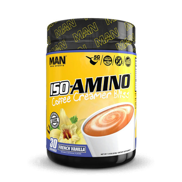 MAN Supplements - ISO-Amino Coffee Creamer Bliss
