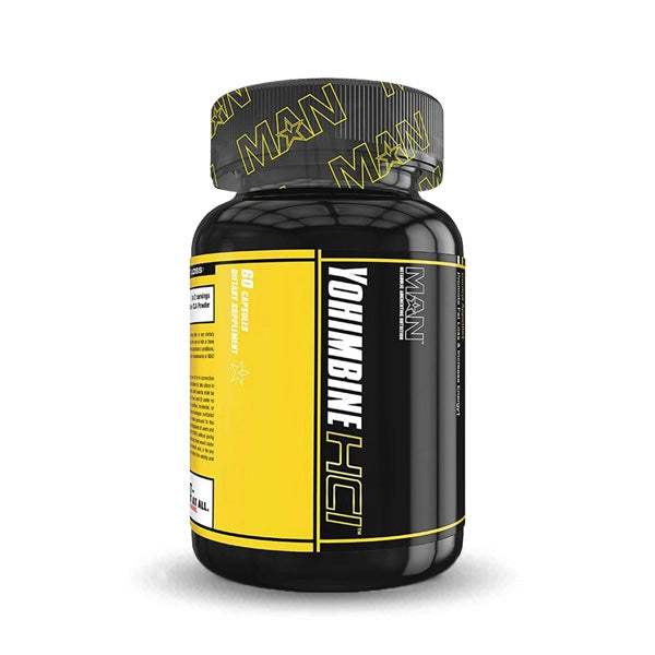 MAN Supplements - Yohimbine HCL - 60 Capsules