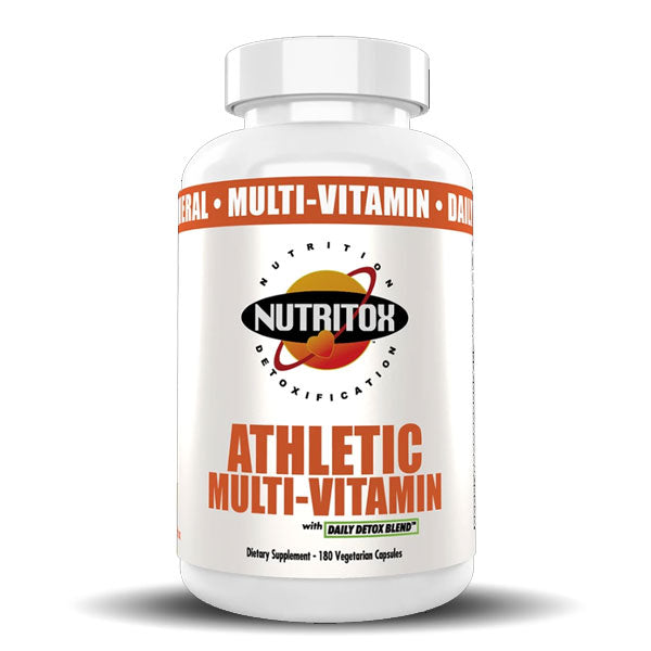 MAN Supplements - Nutritox - Athletic Multi-Vitamin - 180 Capsules