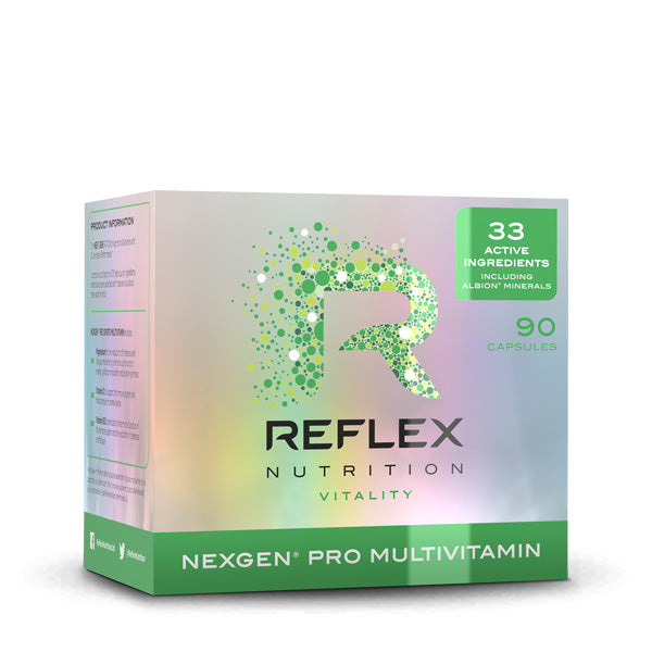 Reflex Nutrition - Nexgen Pro Sports Multivitamin - Unflavored - 90 Capsules