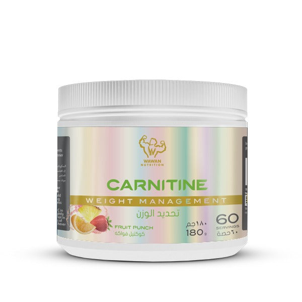 Wawan Nutrition - Carnitine - Fruit Punch - 180 Grams