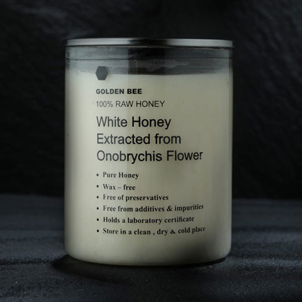 Golden Bee - White Honey Extracted from Onobrychis Flower