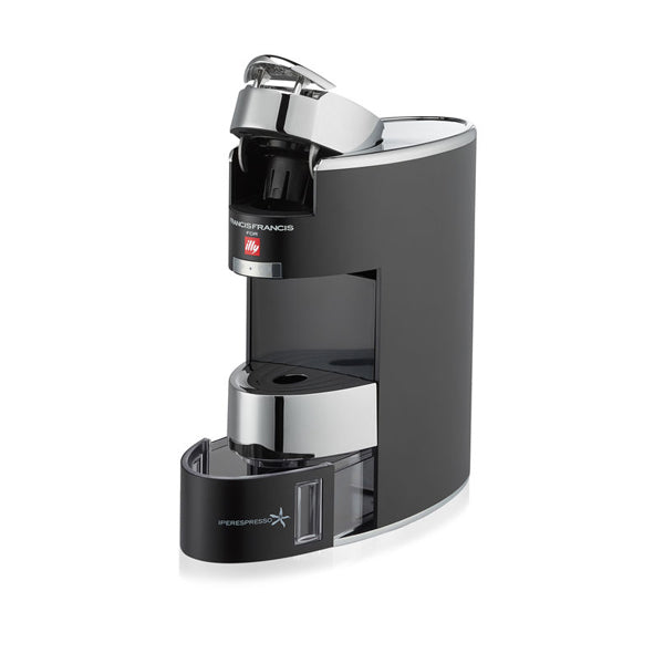 illy - X9 Chromed Espresso Machine - Black