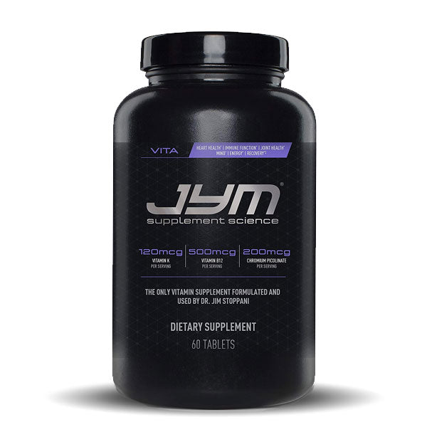 JYM Supplement Science - Vita JYM - Unflavored - 60 Tablets