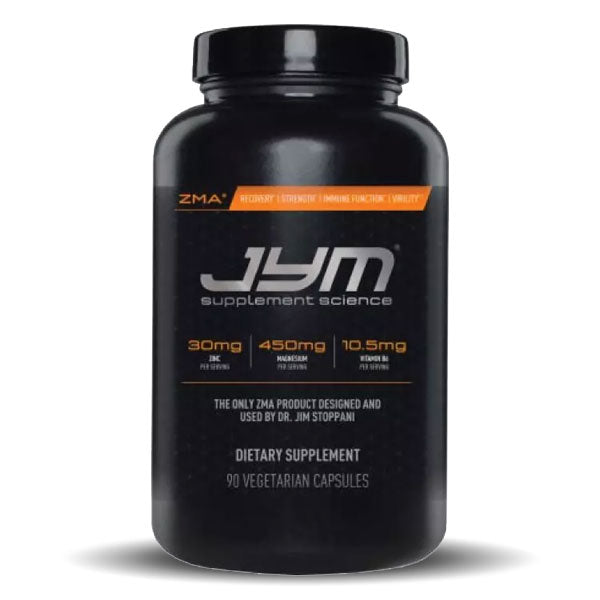 JYM Supplement Science - JYM ZMA - Unflavored - 90 Vegetarian Capsules