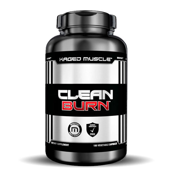 Kaged Muscle - Clean Burn - Unflavored - 180 Vegetable Capsules
