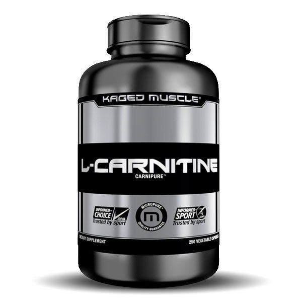 Kaged Muscle - L-Carnitine - Unflavored - 120 Vegetable Capsules