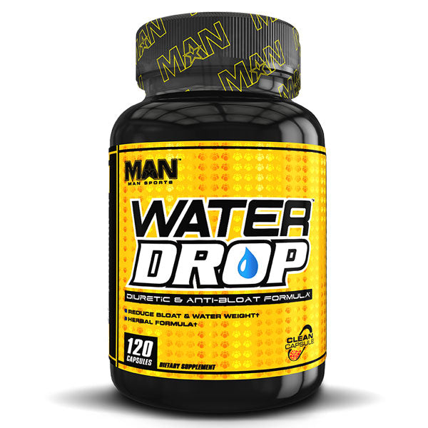 MAN Supplements - Water Drop - 120 Capsules