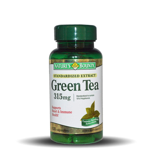 Nature's Bounty - Green Tea - 300 mg - 100 Caplets