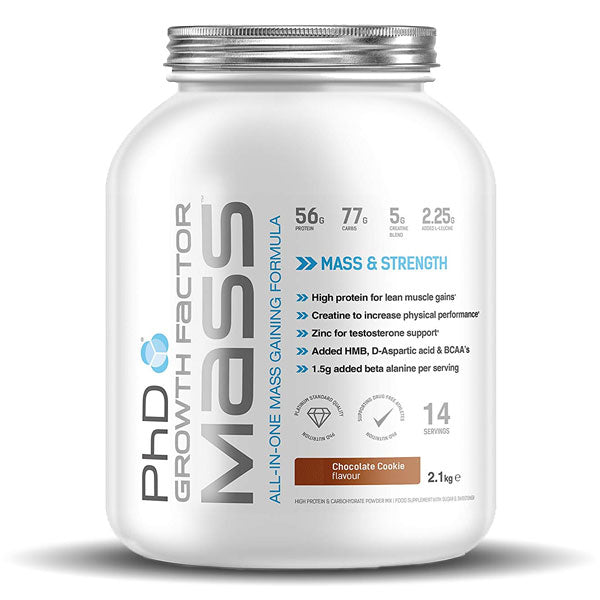 PhD Nutrition - Growth Factor Mass