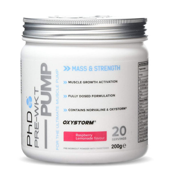 PhD Nutrition - Pre Workout Pump