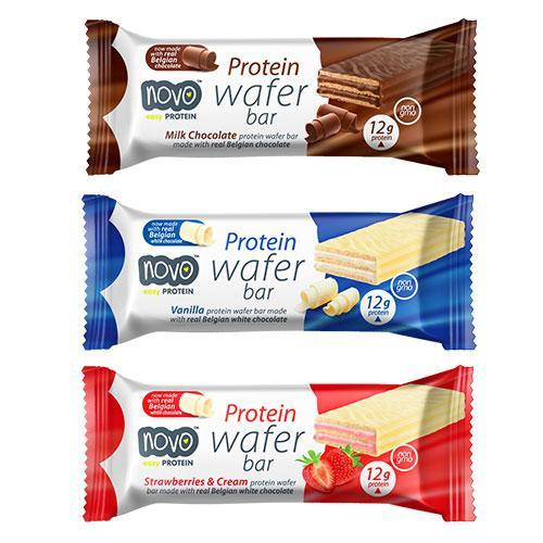 Novo Protein Wafer Bars Box