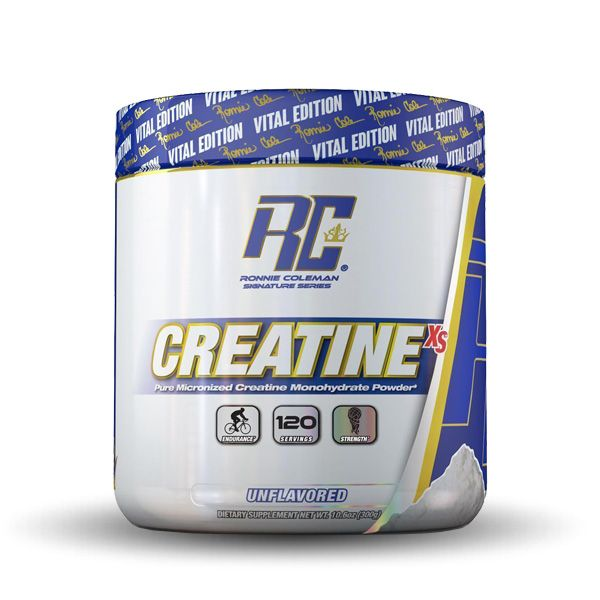 Ronnie Coleman - Creatine XS - Unflavored - 120 Servings